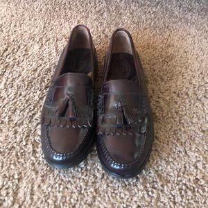 Men's Bass Wejuns tassel loafers size 12M